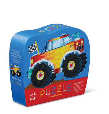 MINI PUZZLE MONSTER TRUCK 12 PIECE