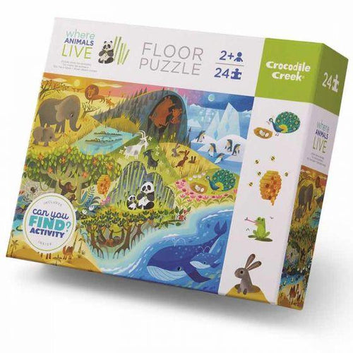 EARLY LEARNING HABITATS PUZZLE 24 PIECE