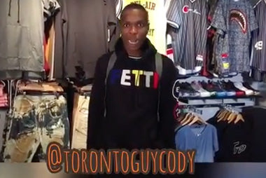 How a Toronto Hoodman goes shopping with Toronto Guy Cody