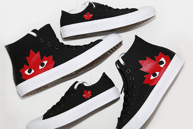 Inked Out Kicks collab for CDG Chucks II