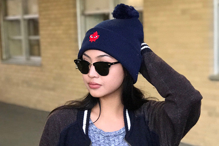 Kamille Austria in our CDG Beanies