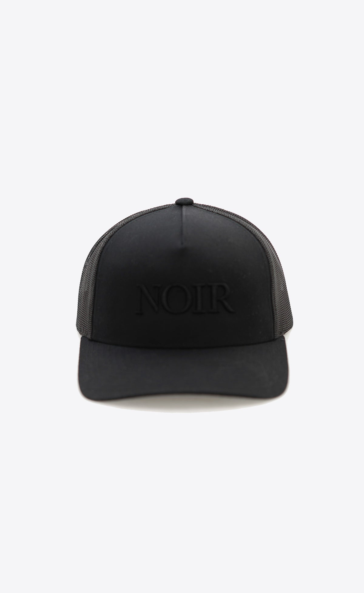 Noir Trucker Hat Black