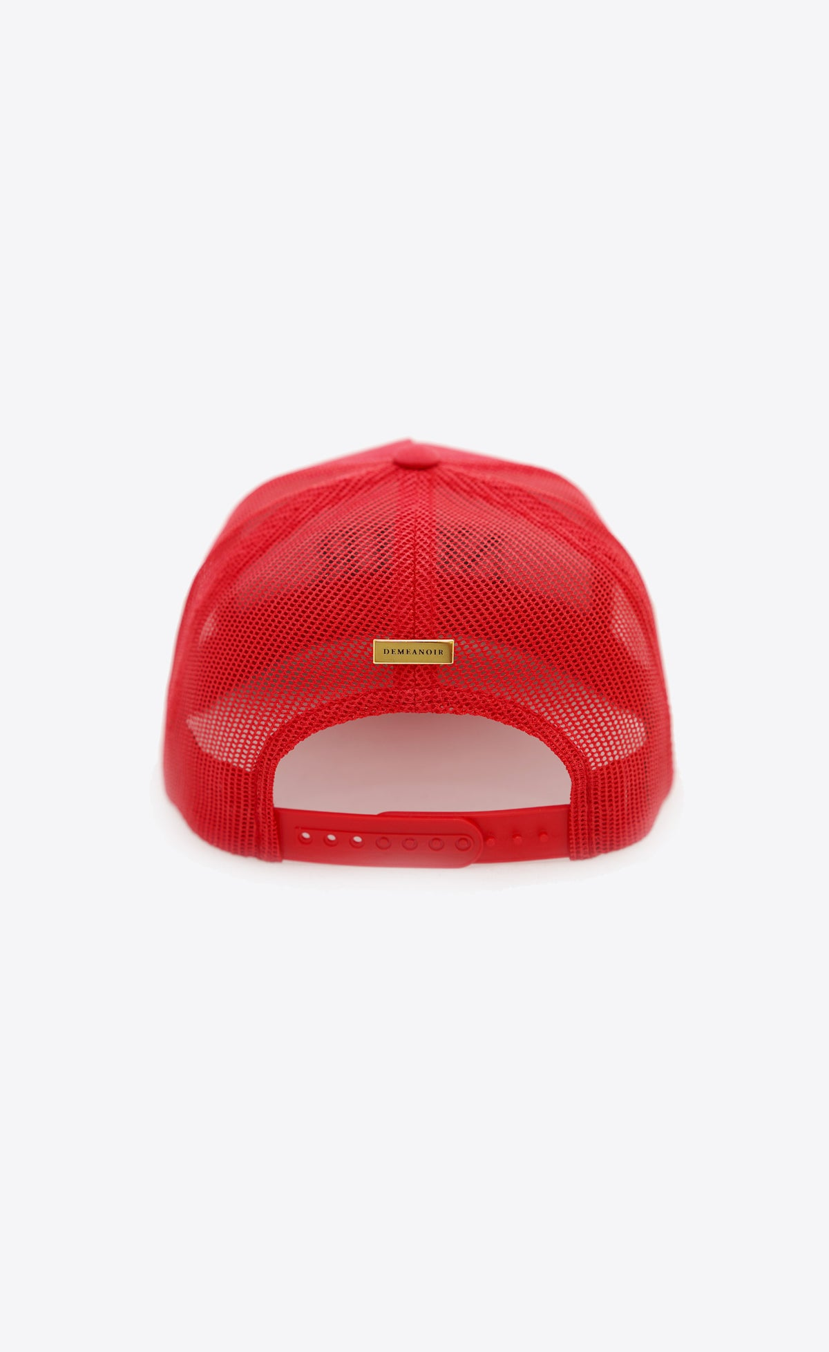 Noir Trucker Hat Red