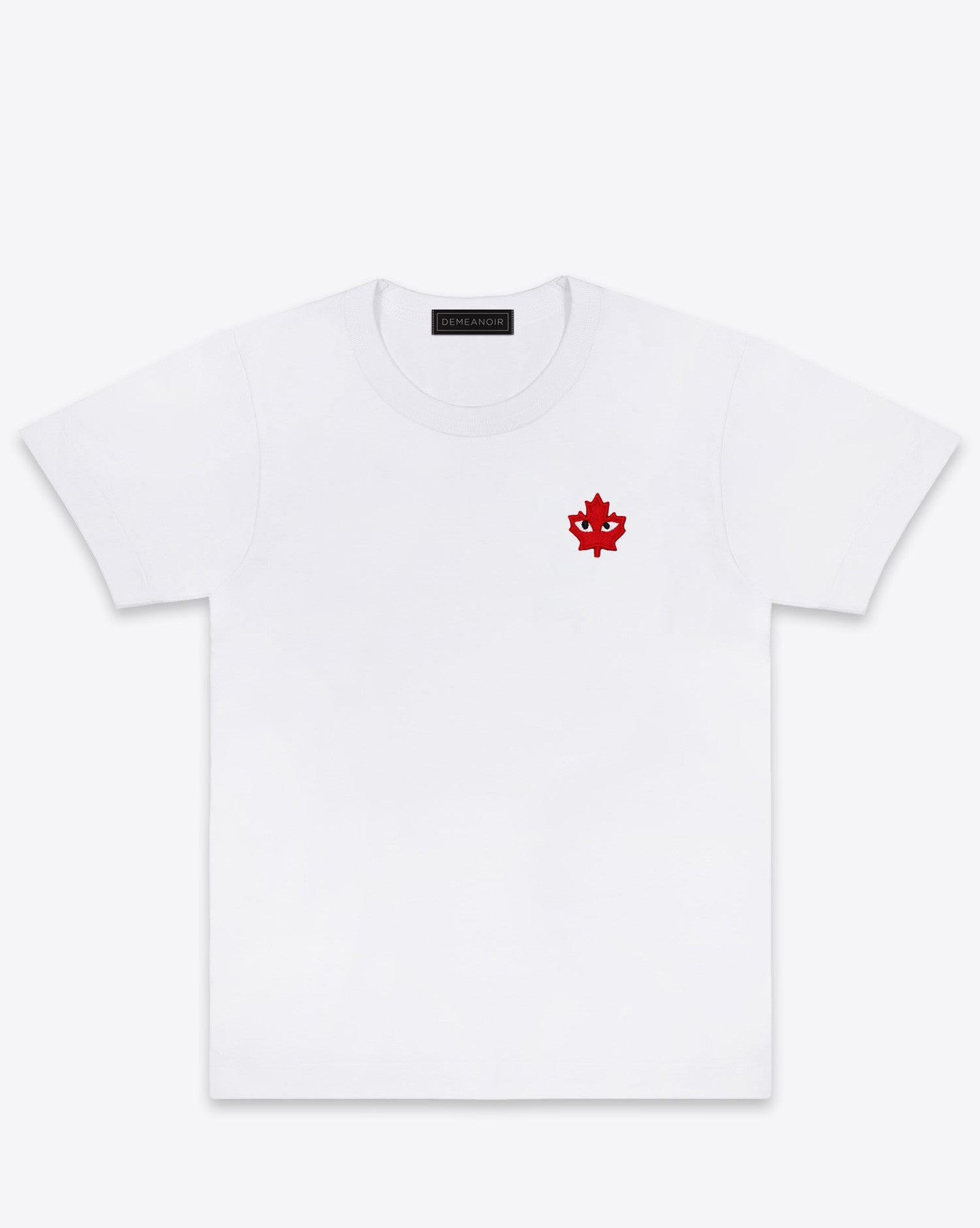CDG T-SHIRT WHITE