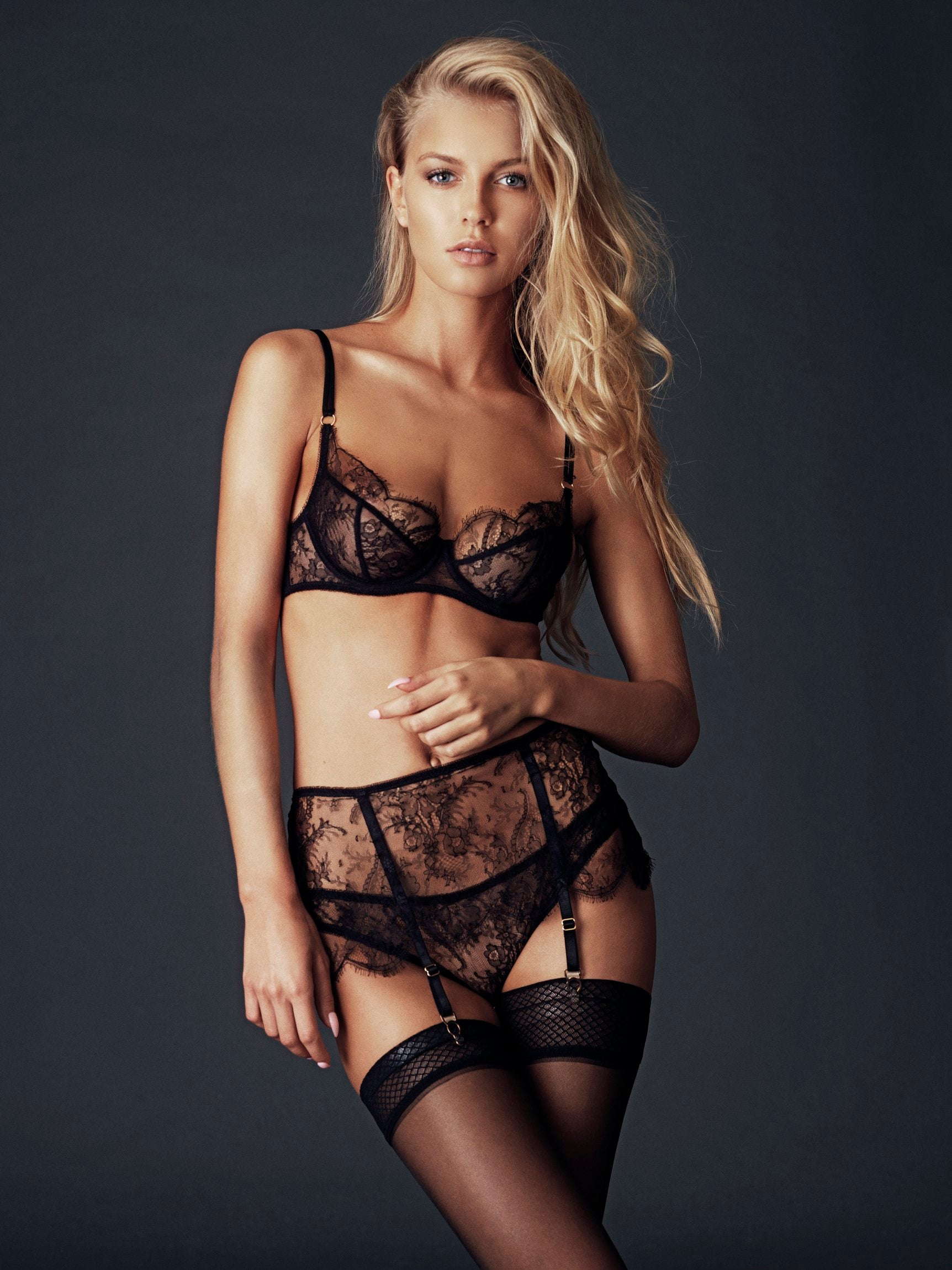 Luxury Floral Lace Lingerie