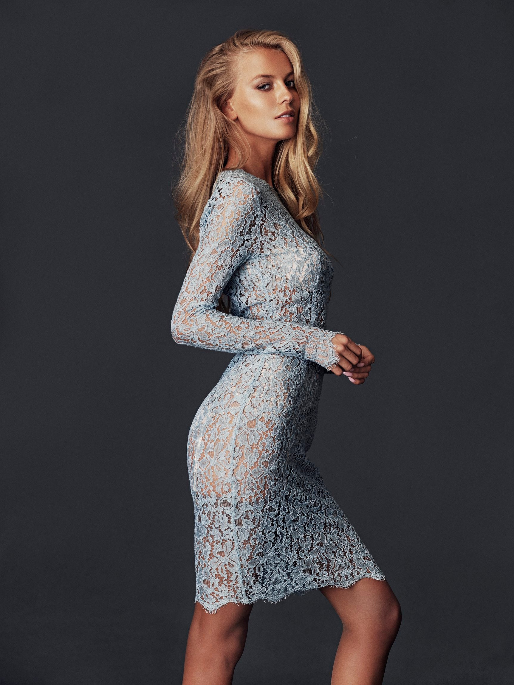 Luxury Corded Lace Dress