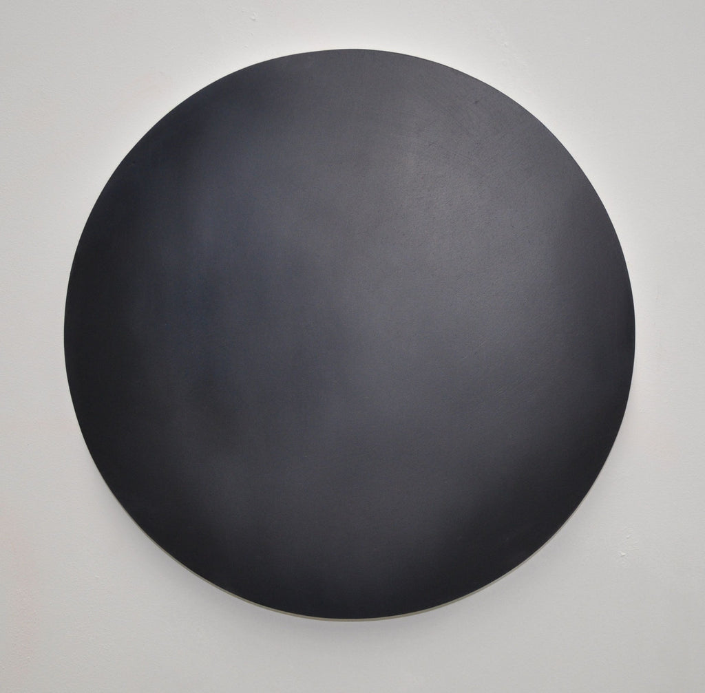 Large Dot 02 Reverie 40cm diameter Oil on Board 2015