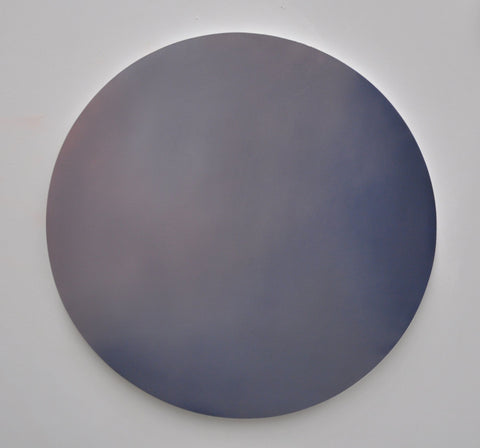 Largest Dot 01 Reverie 60cm diameter Oil on Board 2015