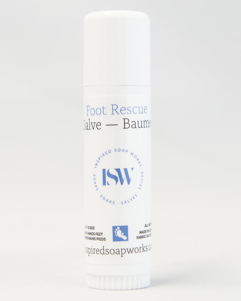 Hydrating Salve Foot Rescue .50oz Travel Tube