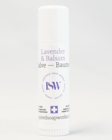 Hydrating Salve Lavender Balsam .50oz Travel Tube