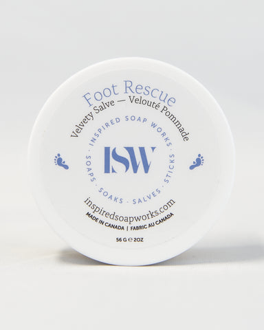 Velvety Salve Foot Rescue
