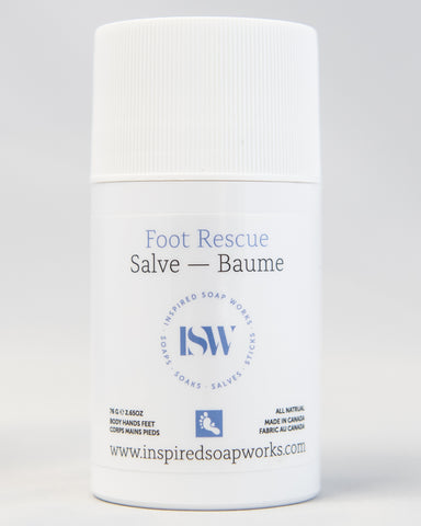 Hydrating Salve Foot Rescue 2.65 oz Tube