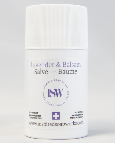 Hydrating Salve Lavender & Balsam 2.65 oz Tube