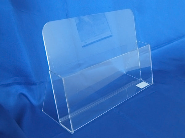 Single Pocket Brochure Holders - Desktop / Wall Mounted (Landscape)