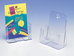 Single Pocket Brochure Holders - Desktop / Wall Mounted (Portrait)