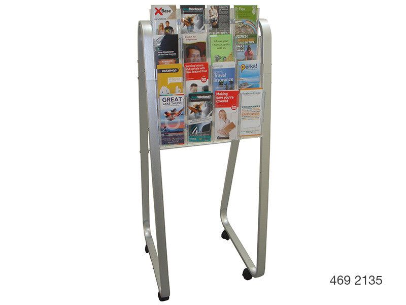DLE Single-Sided Lit Loc Easel Floor Stands