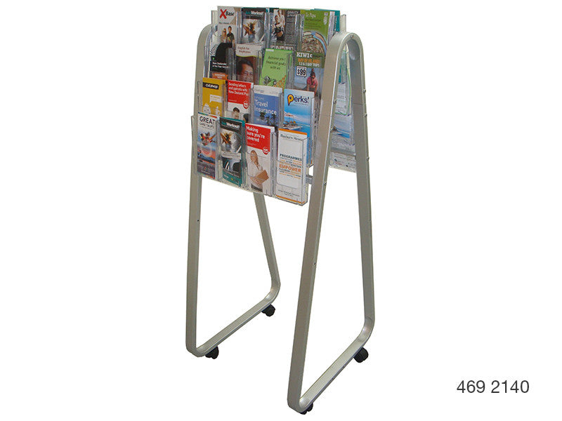 DLE Double-Sided Lit Loc Easel Floor Stands