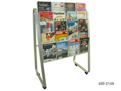A4 Single-Sided Lit Loc Easel Floor Stands