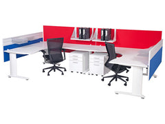 Novi 90 Corner Workstation