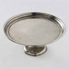Pewter Cake Stand - Single Tier