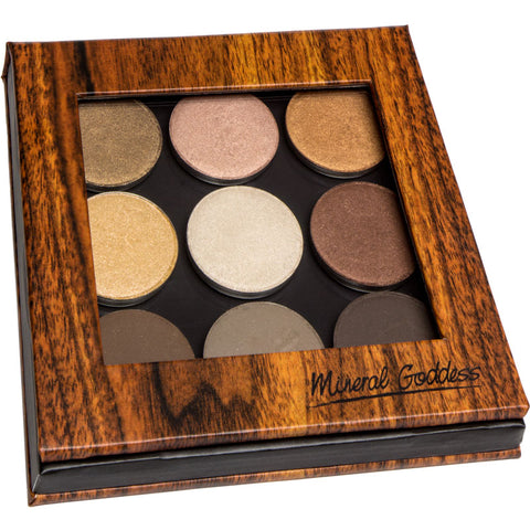 Mineral Goddess Pressed Eyeshadow Palette - The Goddess Collection - Kylies Professional Makeup