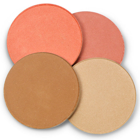 Mineral Goddess Pressed Cheeky Palette Refills - Kylies Professional Makeup