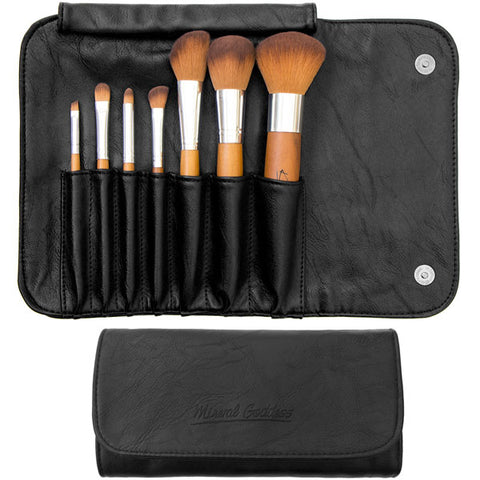 Mineral Goddess Mini-Pro & Traveller Brush set - Kylies Professional Makeup