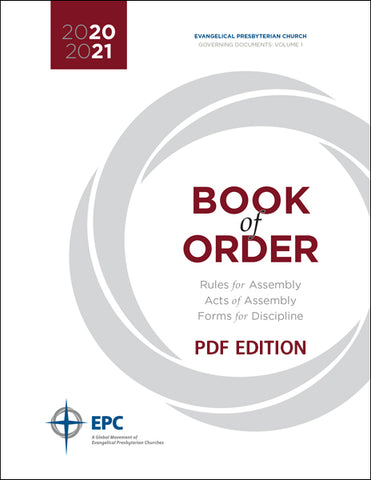 Book of Order 2020-2021 (PDF Download)