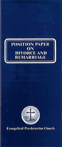 Position Paper on Divorce and Remarriage