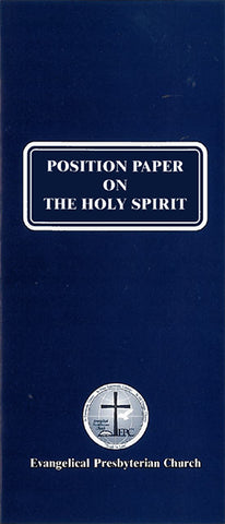 Position Paper on the Holy Spirit