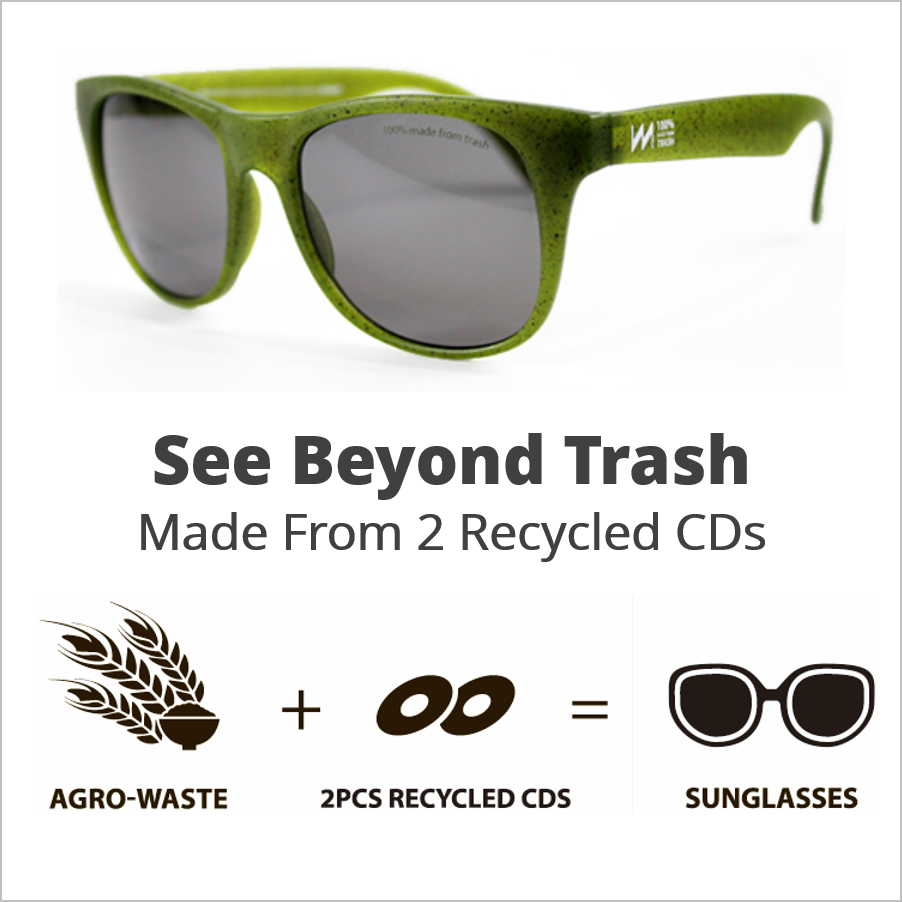 Sunglasses Made From CDs