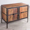 Hyderabad 2-Door Reclaimed Wood Cabinet Chest
