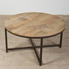 Abbey Round Wood Coffee Table