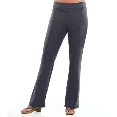 Willow Boot Cut Ladies Pant - Charcoal Grey