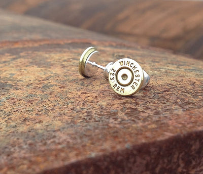 223 Bullet Casing Earrings