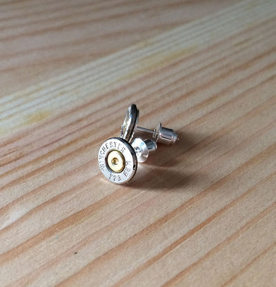 Silver 223 Bullet Earrings