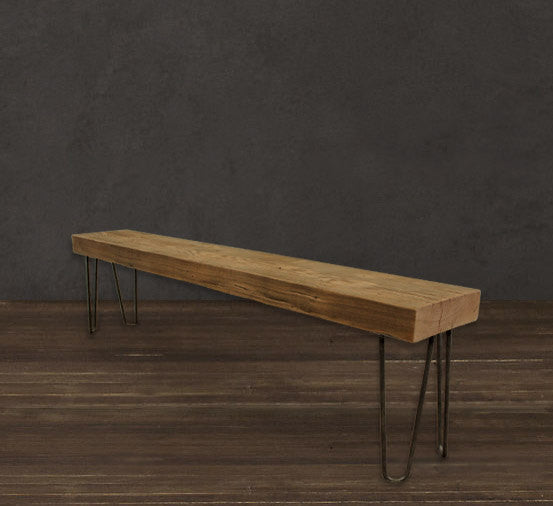 Awesome 6 Solid Reclaimed Wood Beam Bench The Spotted Door Ibusinesslaw Wood Chair Design Ideas Ibusinesslaworg
