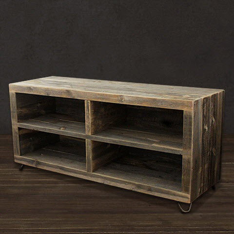 - Alamo Reclaimed Wood Bookshelf - The Spotted Door