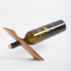 Balancing Act Wine Barrel Stave Bottle Holder