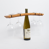 Barrel Stave Wine Bottle Glasses Butler