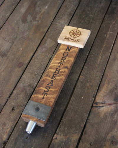 Whiskey Barrel Stave Tap Handle Custom Engraved