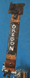 Oregon State Whiskey Barrel Stave Tap Handle