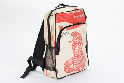 Feed Bag Free Trade Backpack (Red Cobra)