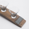 Banded Wine Barrel Serving Dish Set
