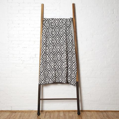 Eco Mod Square Throw Blanket (Smoke Bold)