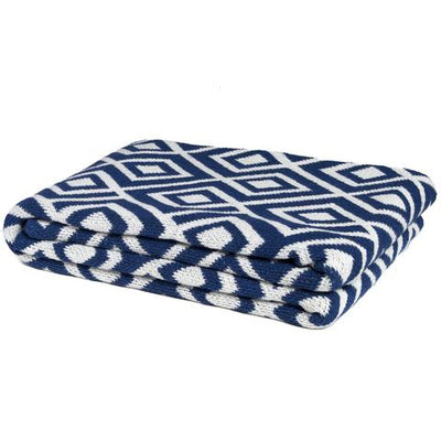 Eco Mod Square Throw Blanket (Cobalt)