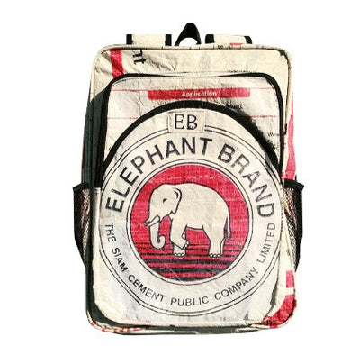 Elephant Branded Cement Bag Backpack