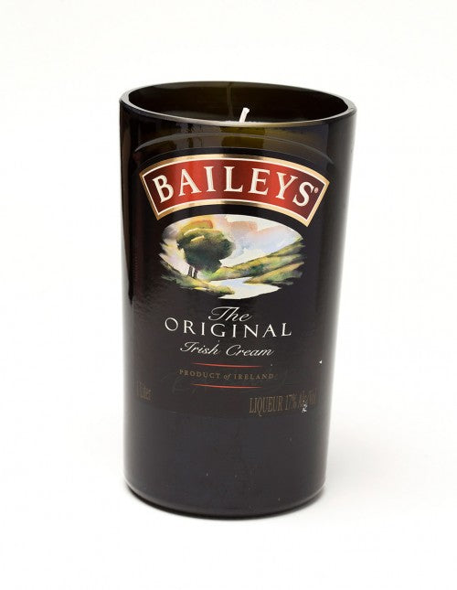 Baileys Liquor Bottle Candle