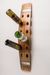 Banded 12 Bottle Wall Wine Rack