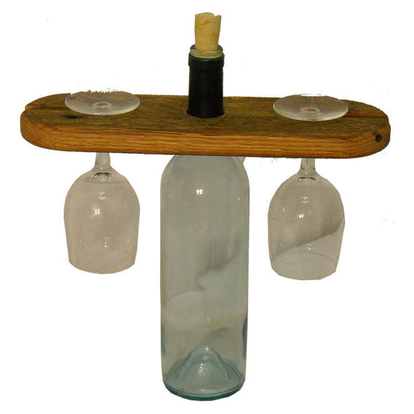 Reclaimed Wood Wine Caddy The Spotted Door